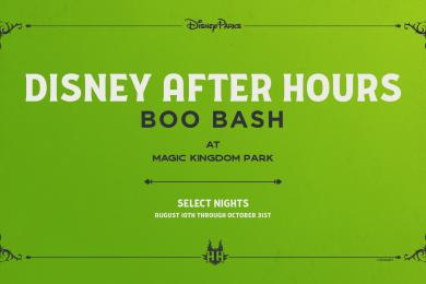 A BOO-tiful BASH Is Being Planned For This Fall At The Magic Kingdom