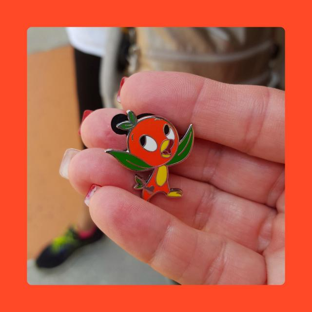 The final Orange Bird for my collection