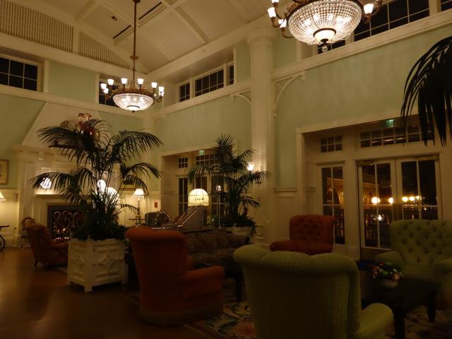 Boardwalk lobby