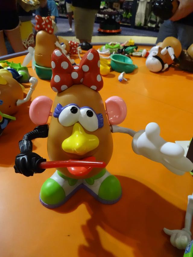 Crazy Potato Head