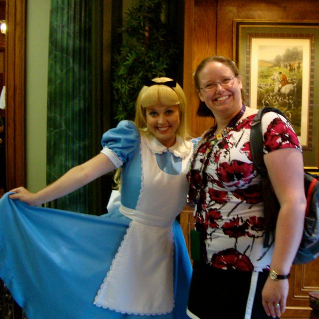 Best Alice ever.  Perfect personality and close enough on looks.  All other Alice's are #2 or lesser.
